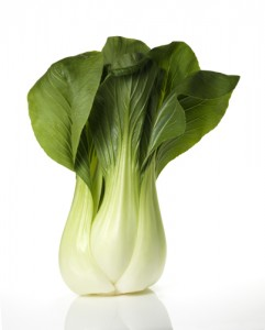 how to clean and store bok choy