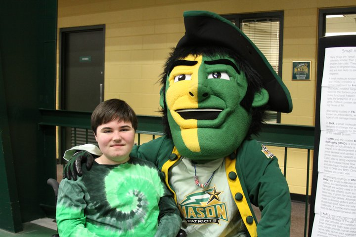 MDA Walk - Nick and George Mason Patriot