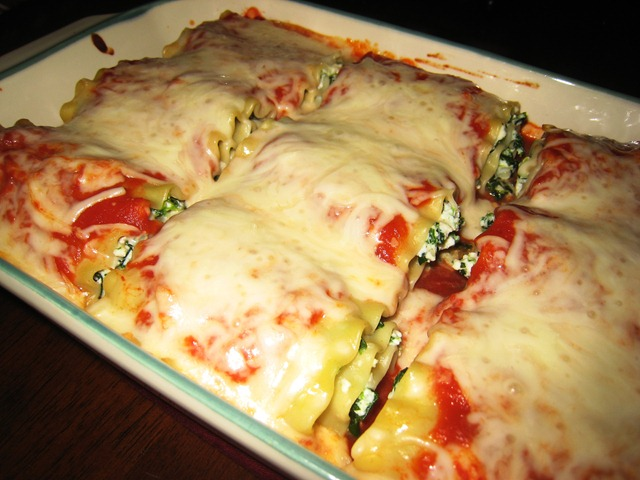 Meat Free Monday: Spinach Lasagna Rolls – Everyday Road to Healthy