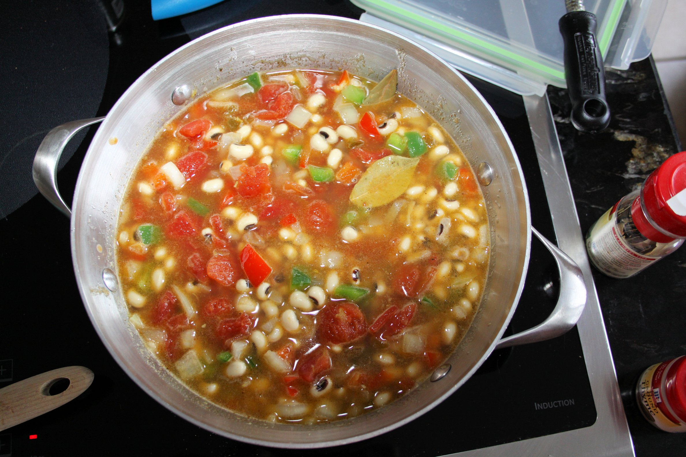 veggies and diced tomatoes